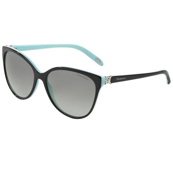 Tiffany & Co. Cat Eye Style Grey Gradient Lens.